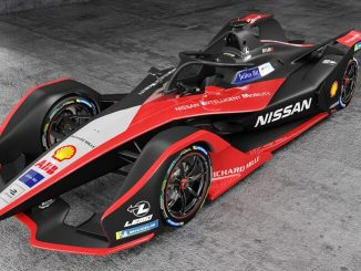 Nissan's New Formula E Race Car Channels Its Japanese Heritage