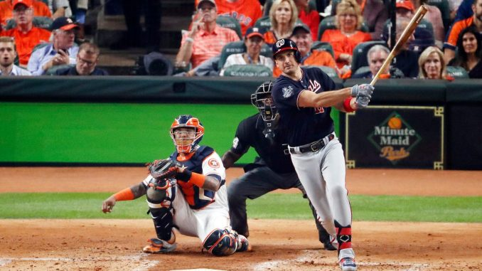 Ryan Zimmerman's long wait rewarded with first World Series home run in Nationals history