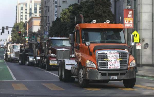 California judge rules gig law does not apply to truck drivers