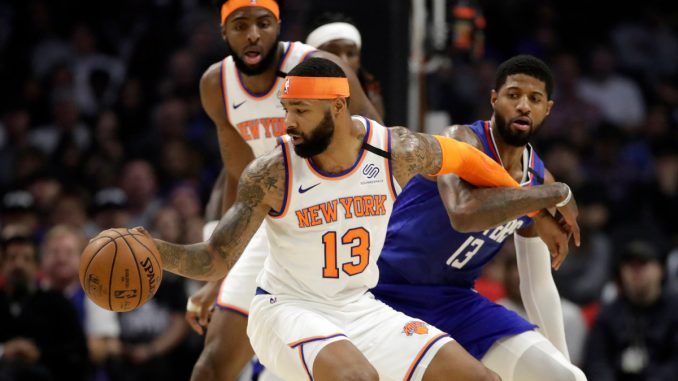 Knicks' Marcus Morris dazzles in possible trade deadline audition